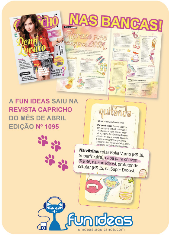 Fun Ideas na Revista Capricho